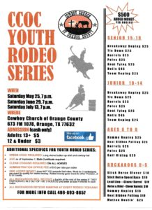 Youth Rodeo 2019 Cowboy Church of Orange County