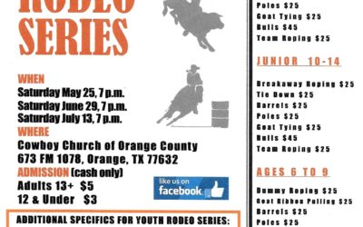 May 25th Youth Rodeo Series